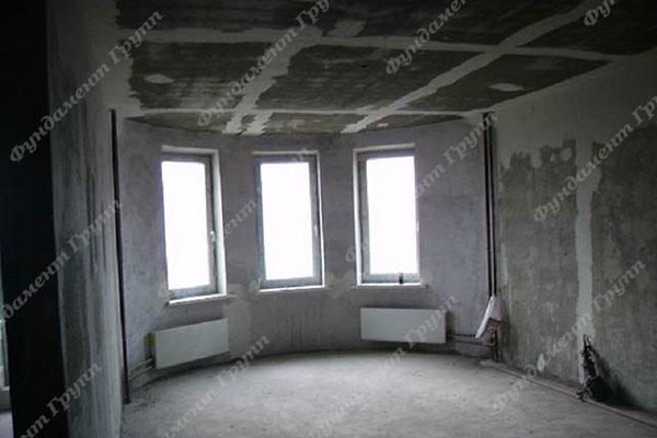 Квартира в новостройке до ремонта