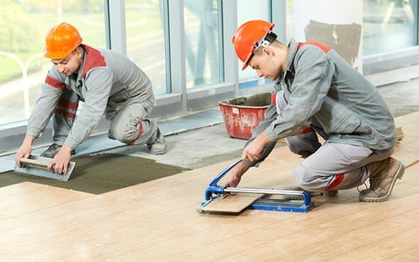 Правильная укладка керамической плитки своими руками 3